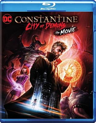 Cover image for Constantine: city of demons [videorecording Blu-ray] : the movie (Animated)