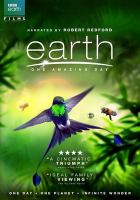 Cover image for Earth : one amazing day [videorecording DVD]