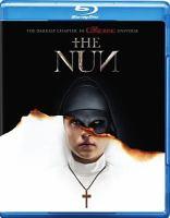 Cover image for The nun [videorecording Blu-ray] (Taissa Farmiga version)