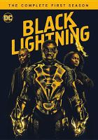 Cover image for Black Lightning. Season 1, Complete [videorecording DVD].