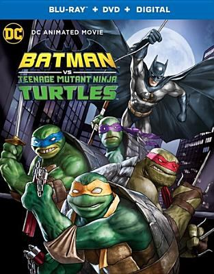 Imagen de portada para Batman vs Teenage Mutant Ninja Turtles [videorecording Blu-ray]