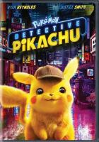 Cover image for PokÔemon Detective Pikachu [videorecording DVD]