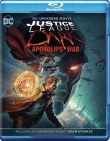 Cover image for Justice League Dark : Apokolips war [videorecording Blu-ray]