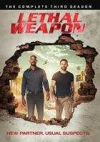Cover image for Lethal weapon. Season 3, Complete [videorecording DVD] (Damon Wayans version).