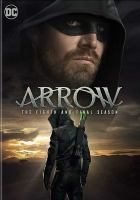 Cover image for Arrow. Season 8, Complete and Final [videorecording DVD].