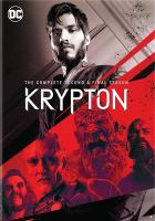 Cover image for Krypton. Season 2, Complete and Final [videorecording DVD]