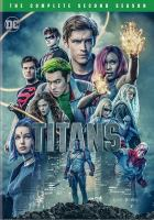 Cover image for Titans. Season 2, Complete [videorecording DVD] (Teen Titans)