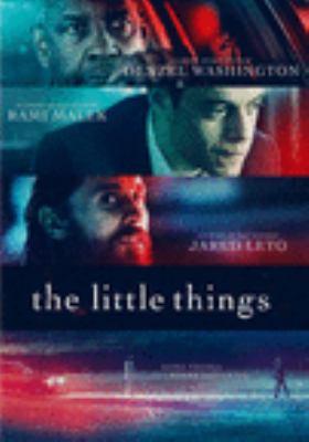 Imagen de portada para The little things [videorecording DVD]