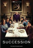Cover image for Succession. Season 2, Complete [videorecording DVD]