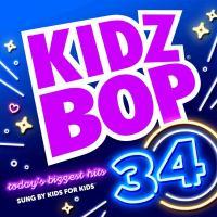 Imagen de portada para Kidz bop. 34 [sound recording CD] : Today's biggest hits sung by kids for kids