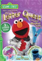 Cover image for Sesame Street. Elmo and friends. The letter quest and other magical tales