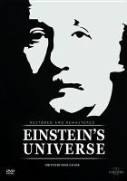Cover image for Einstein's universe [videorecording DVD]
