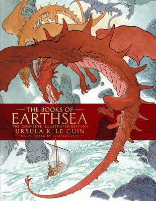 Cover image for The books of Earthsea