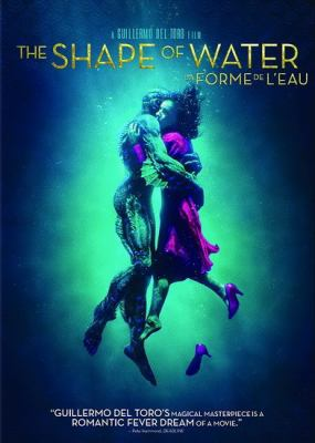 Image of The Shape of Water film cover.