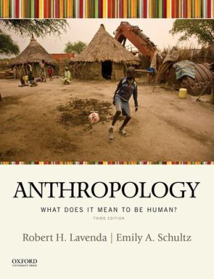anthropology: what does it mean to be human book cover