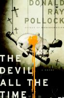 Book Cover: 'The Devil All the Time' by Donald Ray Pollock