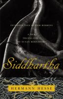 Siddhartha: An Indian Poem
