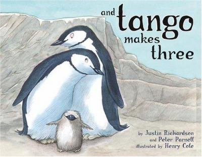 Cover Art: And Tango Makes Three by Peter Parnell and Justin Richardson