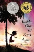 Book Cover: 'Inside Out & Back Again' by Thanhha Lai