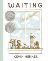 Book Cover: 'Waiting' by Illustrated and written by Kevin Henkes