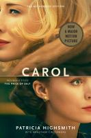 Book Cover: 'The Price of Salt, or Carol' by Patricia Highsmith