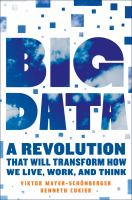 Big Data: A Revolution That Will Transform How We Live, Work, & Think