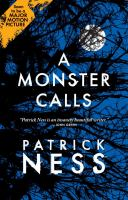 Book Cover: 'A Monster Calls' by Patrick Ness
