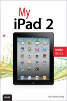 Book Cover: 'MY iPAD 2' by Gary Rosenzweig