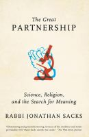 Great Partnership: Science, Religion, and the Search for Meaning