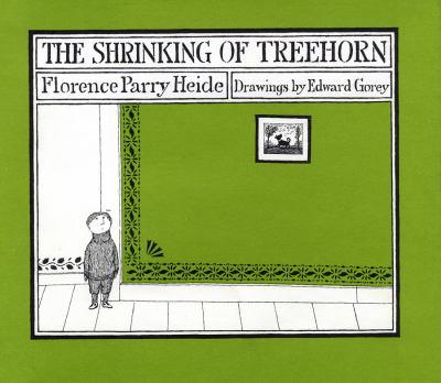 Cover Art: The Shrinking of Treehorn