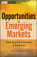 Opportunities in Emerging Markets [e-book]