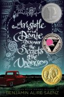 Book Cover: 'Aristotle and Dante Discover the Secrets of the Universe' by Benjamin Alire Saenz