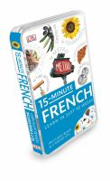 15-minute French [CD and book]