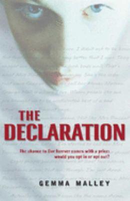 declaration bookjacket