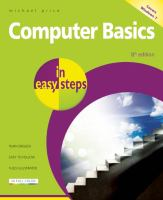Book Cover: 'COMPUTER BASICS IN EASY STEPS' by Michael Price