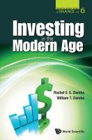 Investing in the Modern Age [e-book]