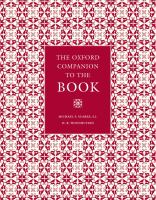 Oxford Companion to the Book, 2010, REF 002.09 O982cb