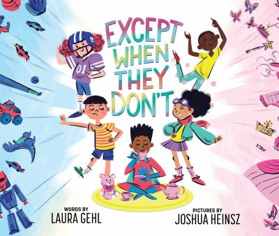 cover image for except when they don't