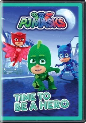 PJ Masks. Time to be a hero.