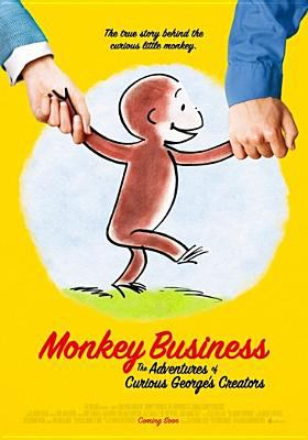 Monkey business : the adventures of Curious George's creators
