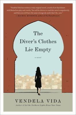 The diver's clothes lie empty :