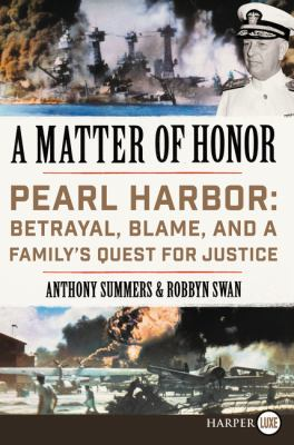 A matter of honor :