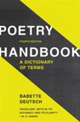 Poetry handbook : a dictionary of terms