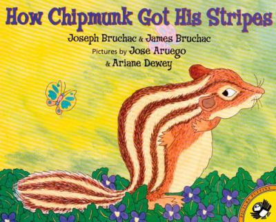 How Chipmunk got his stripes :