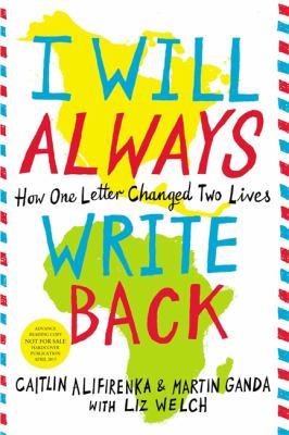 I will always write back :