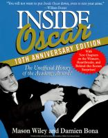 Image from the cover of Inside Oscar