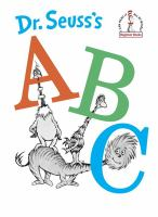 Dr. Seusss ABC book cover