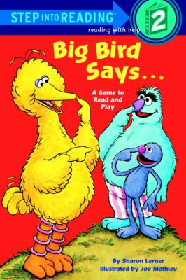 Big Bird says– :