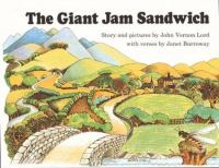 The giant jam sandwich book cover