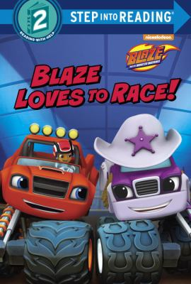 Blaze loves to race!